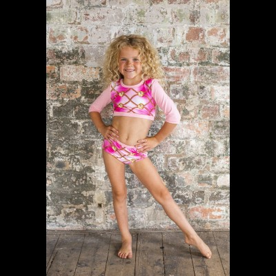 Pink Chain Dance Pants