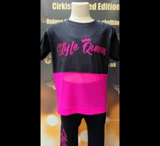 Pink Style Queen Panel T Shirt